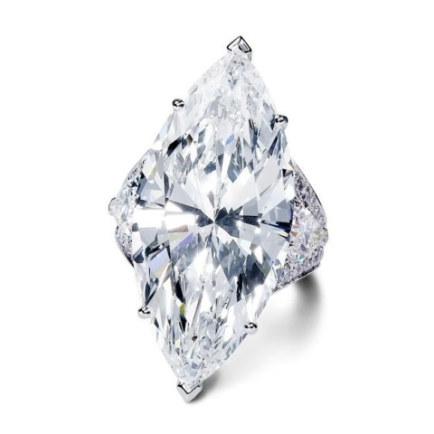Marquis Diamond Engagement Ring